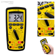Trotec Be50 Multímetro digital Polimetro tester Voltimetro comprobador