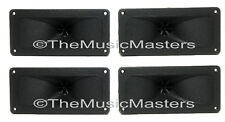 """(4) Flush Mount 2"""" x 5"""" inch Super Horn TWEETERS Speakers Car Audio Home Stereo"""