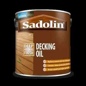 2.5L Sadolin Decking Oil Clear