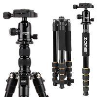 ZOMEI Portable Professional Tripod&Ball Head Travel for Canon DSLR Camera