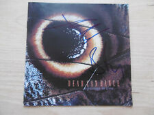"""Dead Can Dance Autogramme signed CD-Cover """"A Passage in Time"""""""