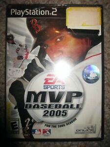 MVP Baseball 2005  (Sony PlayStation 2, 2005) Ps2 w/ Case