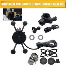 Extra Grip Mount Universal Phone GPS Mobile Iphone Cradle Motorcycle Bike Holder