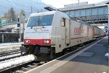 B510 35mm Slide Crossrail Class 186 186903 @ Arth-Goldau