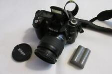Nikon D80 10.2MP Digital-SLR DSLR Camera + Nikkor AF 28-80mm Lens - NO RESERVE