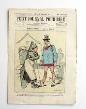 Le Petit Jounal pour Rire n°511 - Les Etrangères à Paris par Mars - P centrale