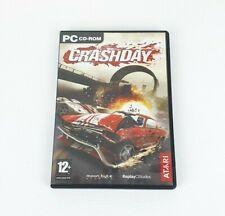 Crashday-PC-CD Rom Rennspiel-Kostenlose UK Lieferung