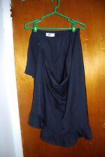 New Comme des Garcons Black Mullet Skirt S