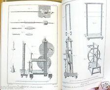 DIDEROT/d'Alembert 18th Century ART de la SOIE SILK, WEAVING PATTERNS/METHODS!