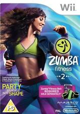 Zumba Fitness 2 Party yourself into shape Nintendo wii new sealed