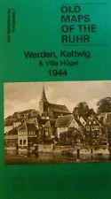 Old Maps of the Rhur Werden Kettwig  Villa Huge1944  S7 Godfrey Edition