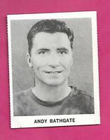 RARE 1965-66 COCA COLA LEAFS ANDY BATHGATE   CARD (INV# D7970)