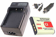Ladegerät / Akku-Ladegerät und AKKU / Batterie für Sony CyberShot DSC-HX10V