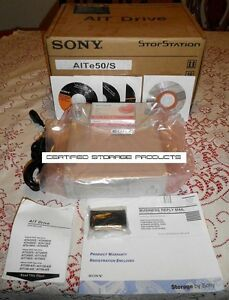 NEW SONY AITe50s AIT-E Ext AITe50/S ATDEA2 AITe50 Turbo Data Tape Drive Kit NIB