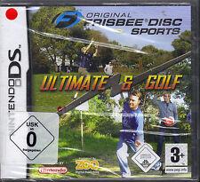 Original Frisbee Disc Sports + Ultimate & Golf (Nintendo DS, 2007)