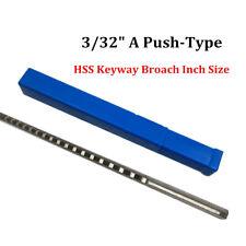 332 Inch A Type Keyway Broach Hss Cutter Metalworking Cnc Machine Cutting Tool