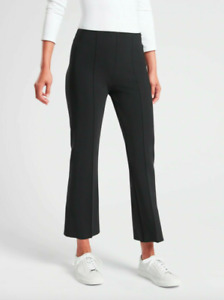 NWT Athleta Mercurial Crop Flare Pant in Black Size XS #405530