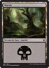 KHANS OF TARKIR KTK #261 VF Magic Swamp ▼▲▼ 4x Marais