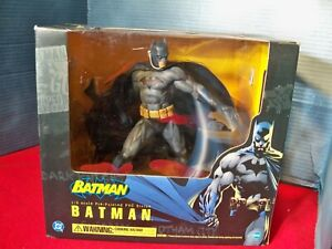 Batman 1/6 ArtFX Statue Kotobukiya Blue & Grey New in Box