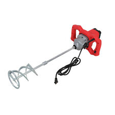 1600w Portable Mixing Mortar Electric Concrete Cement Mixer Industrial Grout Mud