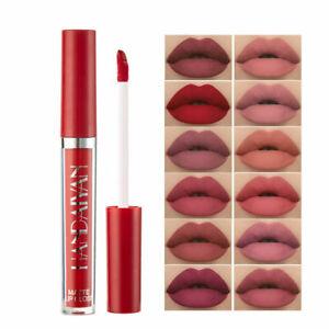 Waterproof Liquid Lipstick Matte Long Lasting Lip Gloss Velvet Makeup Lip Stain~