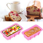 Silicone Cake Mould Bread Loaf Non Stick Bakeware Baking Pan Oven Rectangle Mold