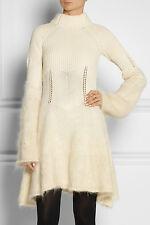 86a040e54b5 McQ Alexander McQueen Knit Mohair Blend Bell Sleeve Dress (S)