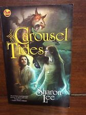 Carousel Tides by Sharon Lee 1st Ed 1st Printing PB Kate Archer Maine Fiction