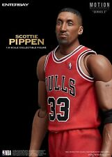1/9 Scale ENTERBAY NBA Collection Scottie Pippen Action Figure (with white ball)