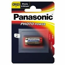 Panasonic Lithium-Based CR123A Single Use Batteries