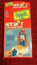 Vintage 1992 Milton Bradley Hot Shot Basketball Travel Arcade Game Motorized Box