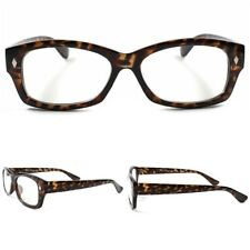 Modern Stylish Tortoise Sexy Mens Womens Fashion Clear Lens Eye Glasses Rx Frame