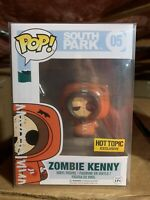 Funko POP! Zombie Kenny South Park Hot Topic Exclusive *NEW *PROTECTOR *RARE