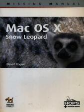 MAC OS X SNOW LEOPARD PRIMA EDIZIONE POGUE DAVID TECNICHE NUOVE 2010