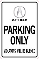 Chevelle Super Sport Parking Only sign  A-1218-49