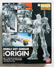 BANDAI MG 1/100 RX-78-2 Gundam The ORIGIN mechanical clear ver limited model kit