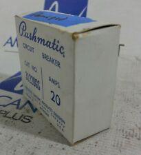 New ITE Pushmatic Bulldog 31220GS P220GS 2 Pole 15 Amp Circuit Breaker *Chip*