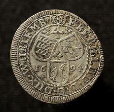 Hzm. Württemberg, Eberhard Ludwig, 4 Kreuzer 1694