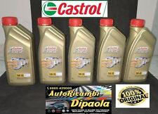 5 LITRI OLIO MOTORE AUTO CASTROL 5W30 PROFESSIONAL EDGE FST LONG LIFE VW 504 00/