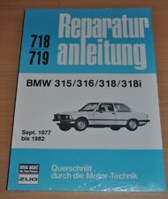 BMW E21 315 316 318 318i 1977 bis 1982 Buch Reparaturanleitung B718 Handbuch OVP