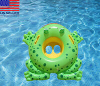 Little frog baby toddler kids Swimming inflatable pool float raft Summer Toy