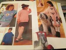 Phildar Creations Knitting Book #218 For Children 26-43 Inches-16 Designs-All Sh