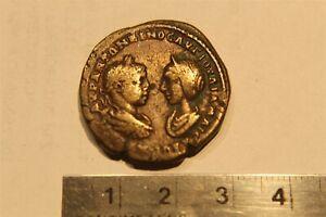 ELAGABALUS AND JULIA MAESA AE26 MARCIANOPOLIS - 218 - 222 AD HERA REV