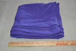"""Cotton jersey knit fabric 67"""" x 1.2 yards, purple"""