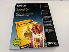 Epson Brochure/Flyer Paper S042384 Matte