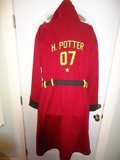 Harry Potter Gryffindor Hoodie Hooded Robe L/XL Warner Brothers Wizarding World