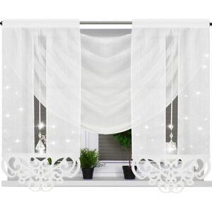 FIRANA GOTOWA zestaw  curtain VOILE   set