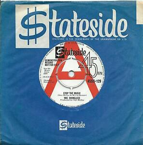 Shirelles:Stop the music/It's love that really counts:UK Stateside DJ:Popcorn