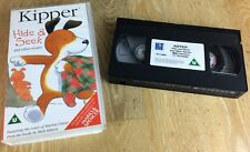 Kipper Hide & Seek And Other Stories - VHS Video Tape PAL Marks & Spencers