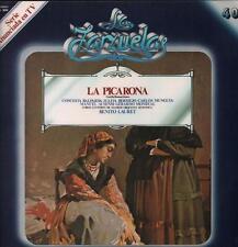 La Zarzuelas(No.40 Vinyl LP)La Picarona Benito Lauret-Zacosa-ZCL 1040-S-VG/Ex+